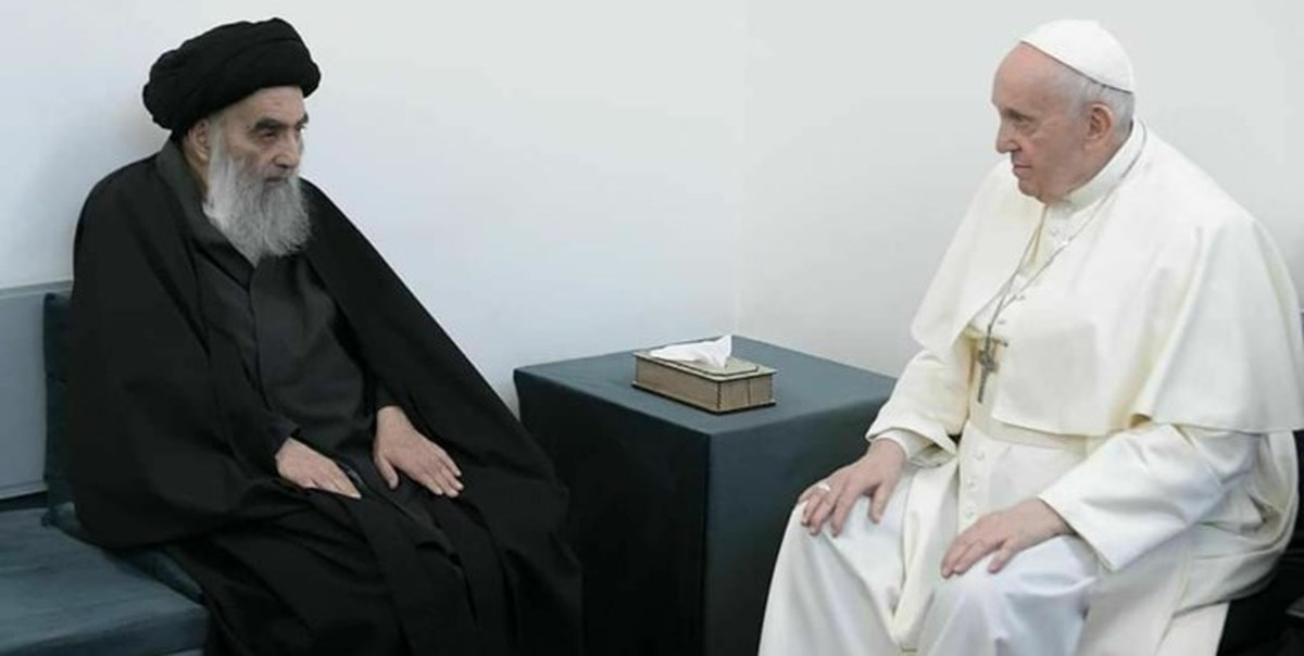 بیانیه واتیکان و دفتر آیتالله سیستانی درباره دیدار با پاپ