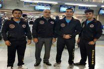 تیم هاپکیدو مازندران به نمایندگی ازایران به مسابقات جهانی اعزام شد