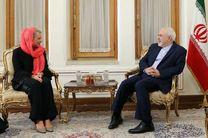 نماینده دبیرکل سازمان ملل در امور عراق با ظریف دیدار کرد