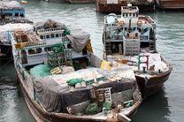 توقیف 5 لنج تجاری حامل کالای قاچاق در پارسیان