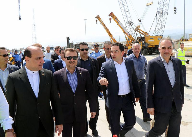 روابط ایران با جمهوری آذربایجان در حوزه بندری و دریایی در حال افزایش است