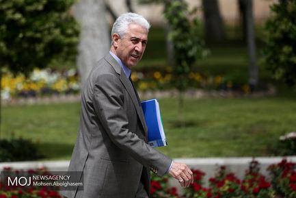 حاشیه جلسه هیات دولت -  ۱۸ اردیبهشت ۱۳۹۸/ منصور غلامی ، وزیر علوم، تحقیقات و فناوری