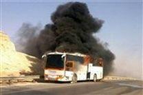 تحویل 19 جسد حادثه تصادف اتوبوس نطنز به پزشکی قانونی استان اصفهان