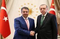 اردوغان با وزیر خارجه آلمان در آنکارا دیدار کرد
