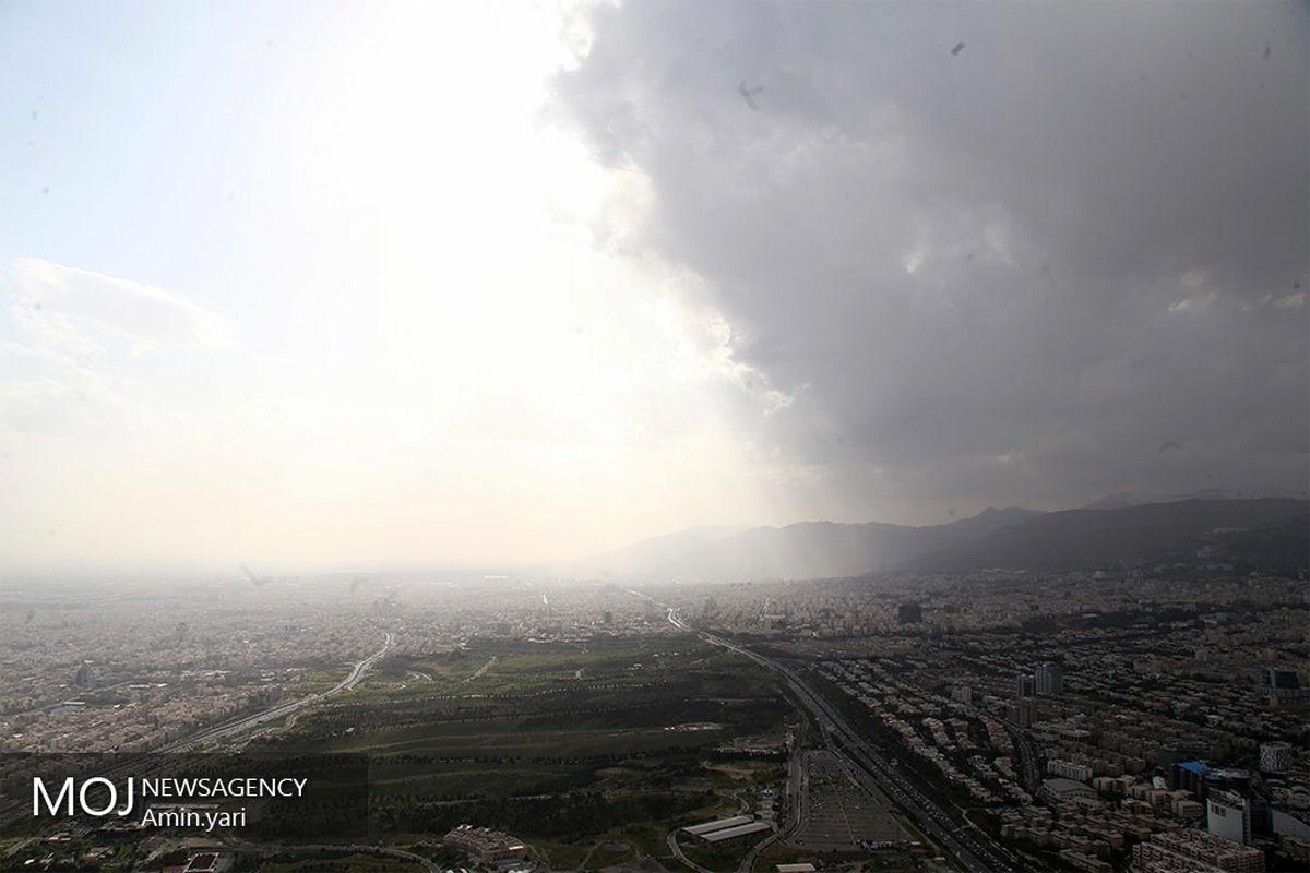 کیفیت هوای تهران ۱۶ آذر ۹۹/ شاخص کیفیت هوا به ۷۷ رسید