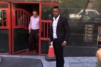 حضور منشا در باشگاه پرسپولیس