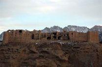 آغاز مرمت قلعه تاریخی هنجن در شهرستان نطنز
