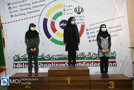 مرحله نخست مسابقات آزاد تپانچه کشور