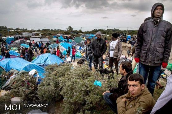 تخلیه یک اردوگاه مهاجران در پاریس