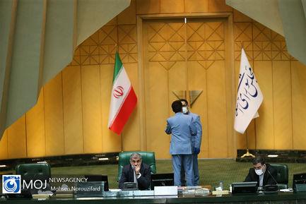 صحن علنی مجلس شورای اسلامی با حضور وزیر خارجه