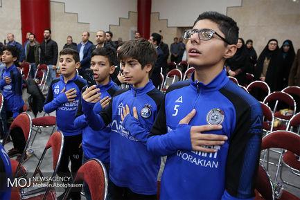 گلریزان جامعه ورزش در حمایت از مردم مظلوم یمن