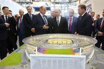 پوتین پیگیر ورزشگاه اکاترینبورگ/ راهاندازی ۲۰۰ ایستگاه هوشمند اتوبوس