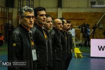 لیگ برتر والیبال دیدار تیمهای بانک سرمایه و شهرداری تبریز