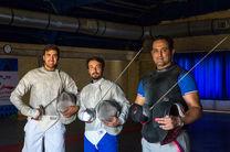 اعضای تیم ملی شمشیربازی و شنا وارد ریو شدند