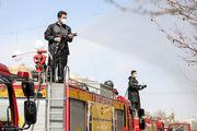 ضد عفونی کردن خیابان ها و معابر اصلی در سطح شهر خمینی شهر