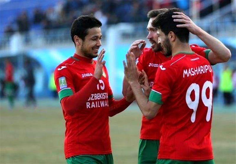 پیروزی لوکوموتیو ازبکستان مقابل الوحده امارات در لیگ قهرمانان آسیا