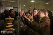 افتتاح نمایشگاه میراث باستان شناسی تهران