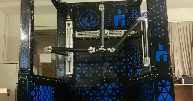 ساخت ربات ۳ درجه آزادی مستقل خطی در مقیاس صنعتی