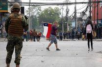 اعتراضات در شیلی 8 کشته برجا گذاشت