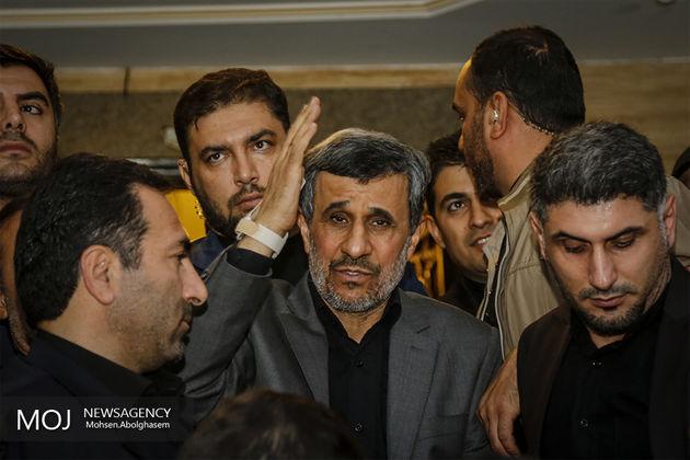 مراسم هفتمین روز درگذشت داوود احمدی نژاد برگزار شد
