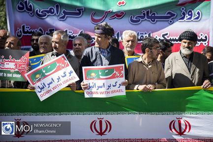 راهپیمایی+روز+جهانی+قدس+در+کردستان