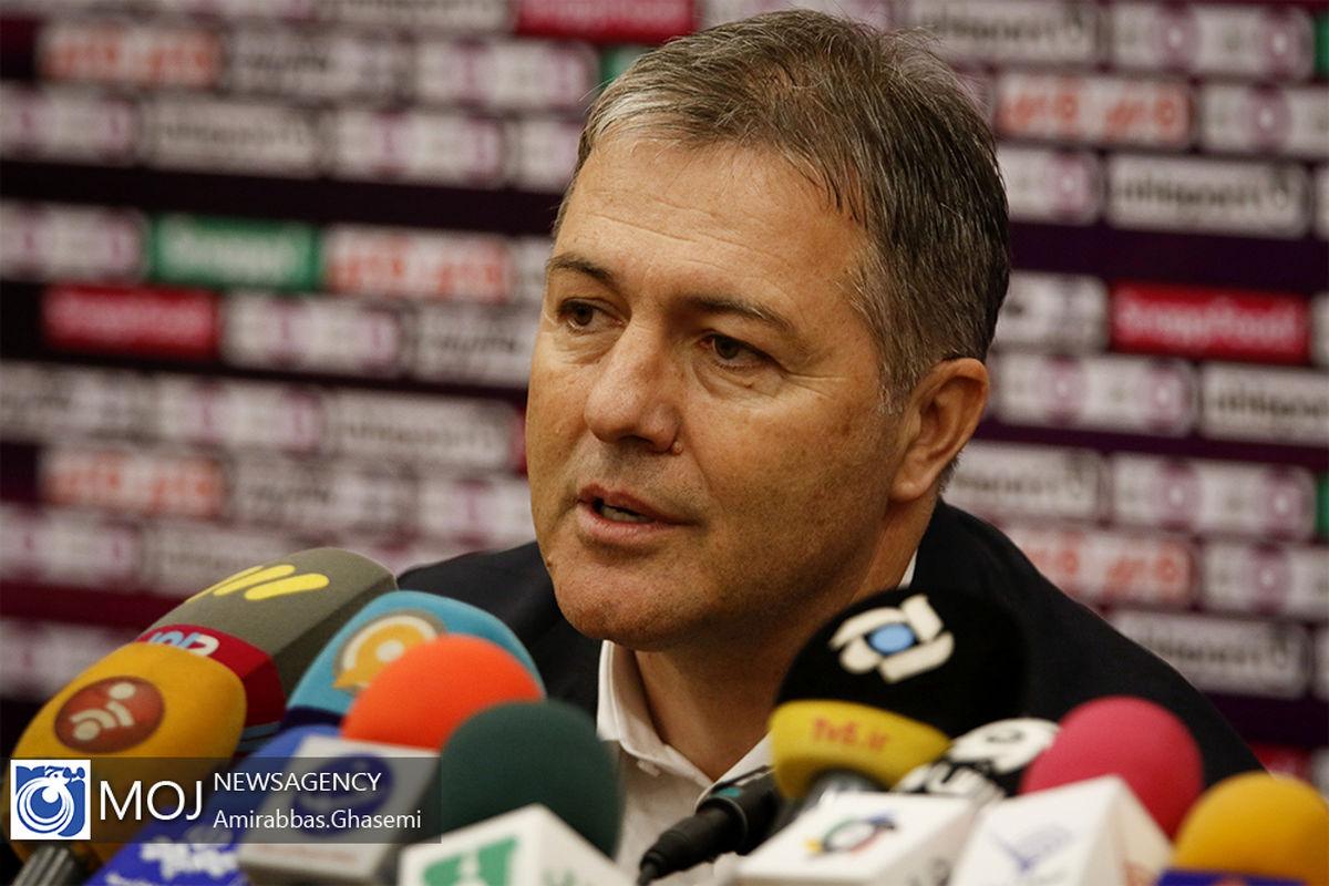 آرزو میکنم تیم ملی بوسنی در تمام بازیهای پیش رو جزو مقابل ایران پیروز شوند