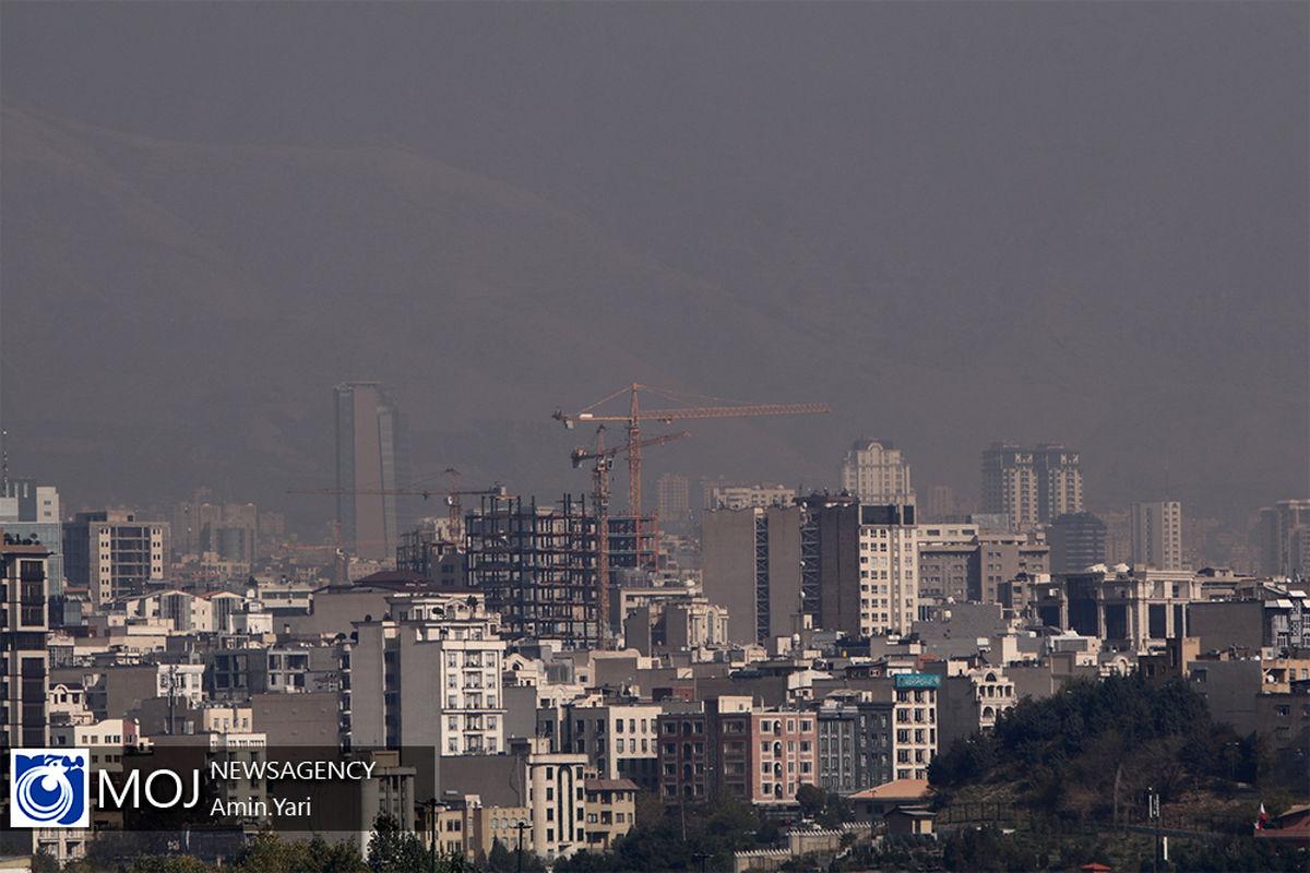 کیفیت هوای تهران ۲۱ بهمن ۹۹/ شاخص کیفیت هوا به ۱۰۲ رسید