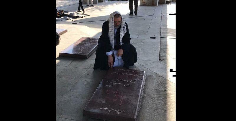 حضور آیت الله رییسی در مقبر الشهداء کلکچال