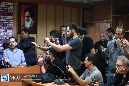 نشست خبری سرمربیان پرسپولیس و استقلال پیش از شهرآورد پایتخت