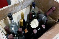 محموله بزرگ مشروبات الکلی خارجی در جاسک کشف شد