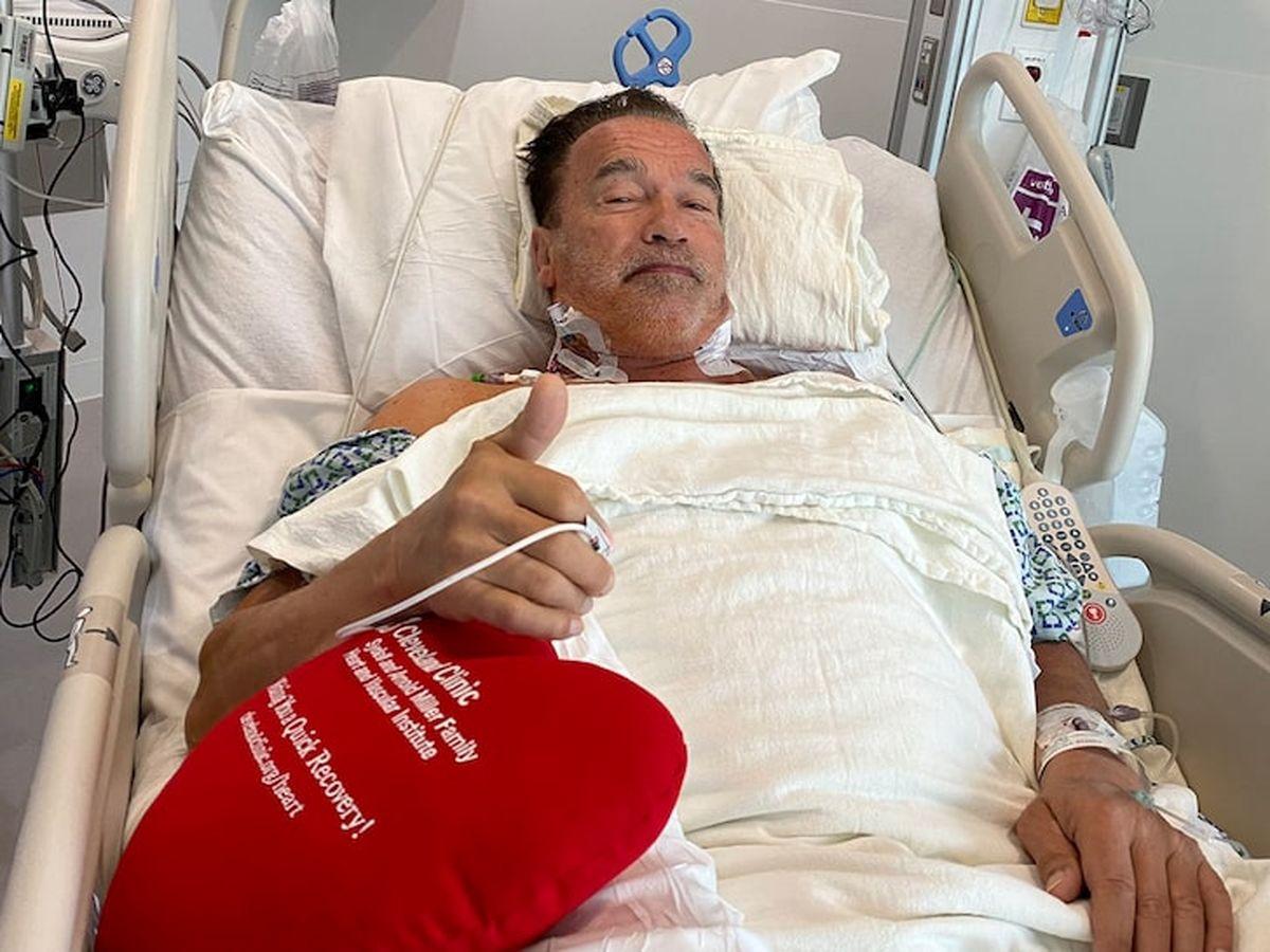 آرنولد زیر تیغ جراحی رفت