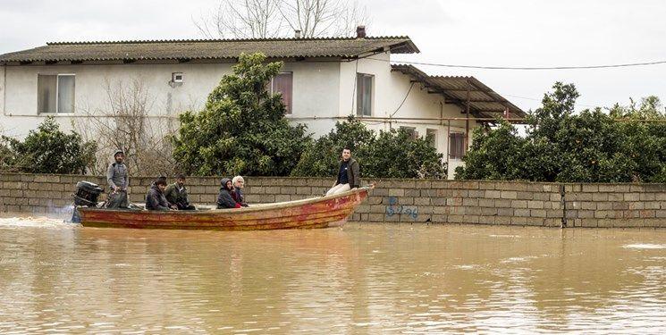 تخریب 590 واحد مسکونی در سیل مازندران