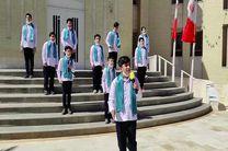 اجرای سرود شاه مردان در فرمانداری بافق+فیلم
