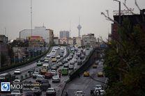 وضعیت ترافیکی تهران در صبح ۲۷ آبان اعلام شد