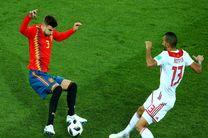 نتیجه بازی مراکش و اسپانیا در جام جهانی/ صعود اسپانیا به دور حذفی رقابتهای جام جهانی