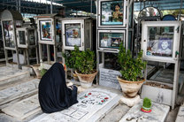 قطعه ای به نام خانواده شهدا و ایثار گران در آرامستان بندرعباس