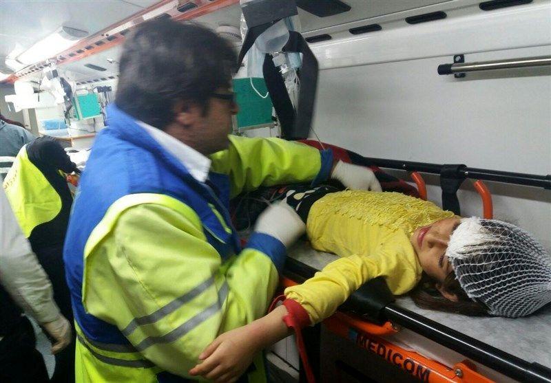 مصدومیت 17 نفر در پی 3 تصادف در حوزه تحت پوشش اورژانس ایرانشهر