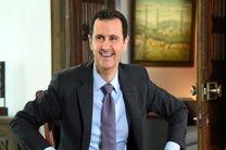 بشار اسد پیام شفاهی حیدر العبادی را دریافت کرد
