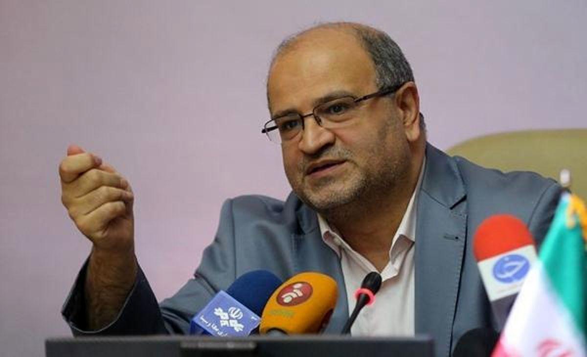 آمار کرونا در تهران حدود ۱۰ تا ۱۲ درصد نسبت به هفته گذشته کاهش داشته است