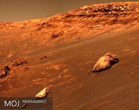مواد آتشفشانی در مریخ کشف شد