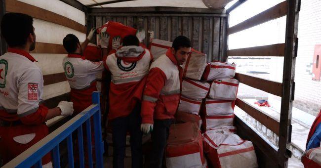 کمکهای امدادی دولت چین و ایرانیان مقیم اتریش تحویل هلال احمر شد