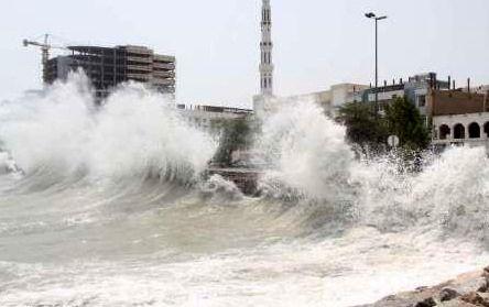 هشدار هواشناسی هرمزگان نسبت به مواج شدن دریا