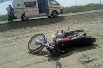 تصادف مرگبار موتور سوار 45 ساله در بلوار حقانی