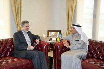 دو دیپلمات ایرانی و کویتی دیدار کردند