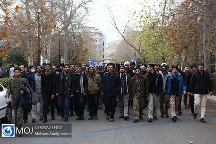 اجتماع دانشجویان دانشگاه تهران در پی شهادت سردار سلیمانی (۲)