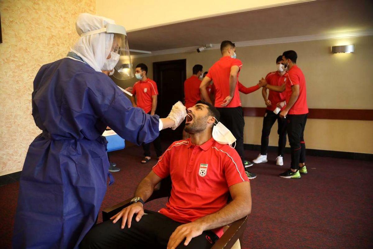 جواب تست اعضای تیم ملی فوتبال ایران مشخص شد/ مثبت شدن تست کرونای مظاهری و لک