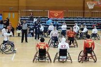 شکست تیم بسکتبال با ویلچر بانوان مقابل چین