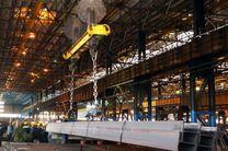 تحویل اولین محموله تیرآهن H30 ذوب آهن اصفهان به خریدار