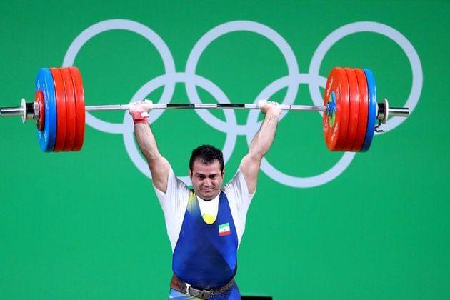 سهراب مرادی در ترکیب تیم ملی وزنه برداری برای بازیهای داخل سالن آسیا