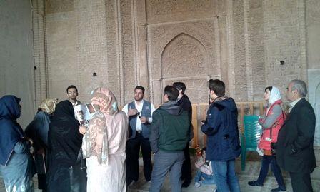 بازدید 3 هزار گردشگر نوروزی از آثار تاریخی اردستان